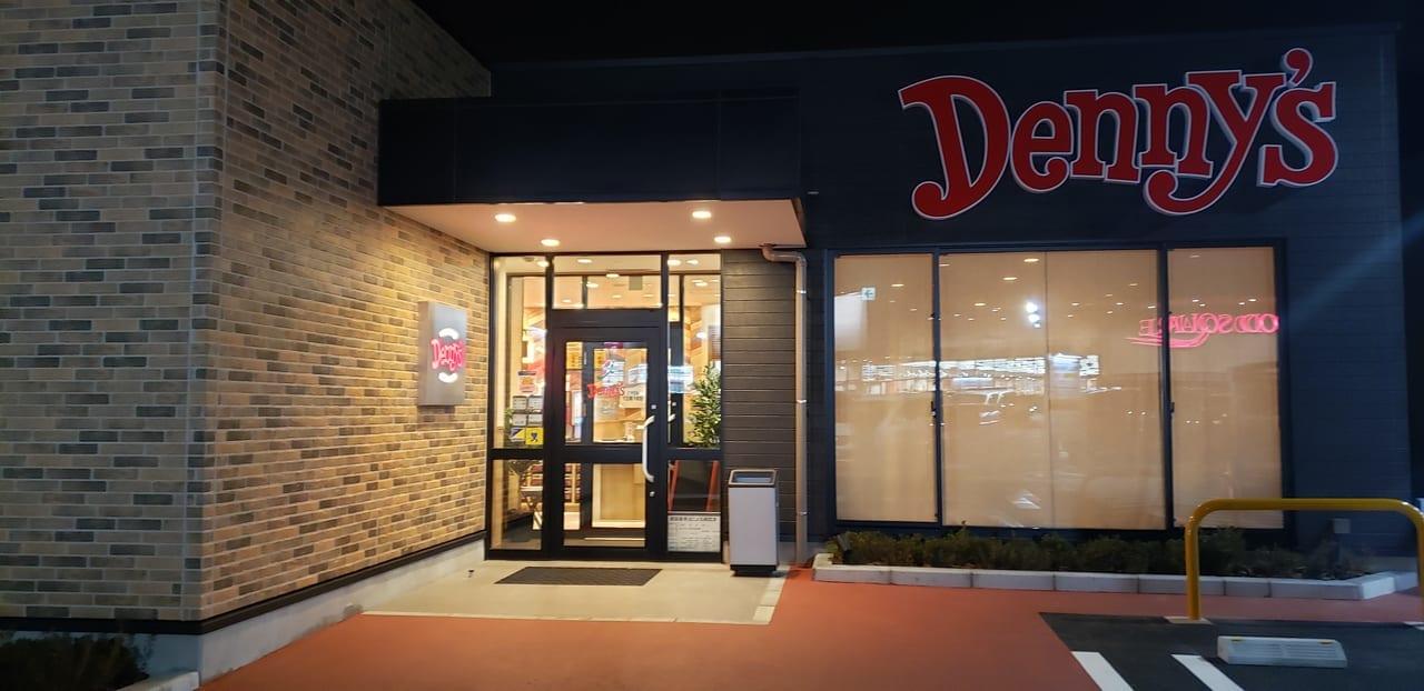 オープン間近のDenny's